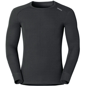 Odlo Men Shirt l/s crew neck WARM black